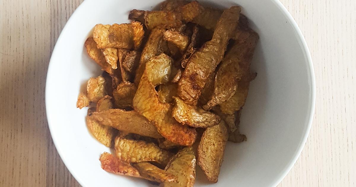 Recette de chips d'épluchures de légumes